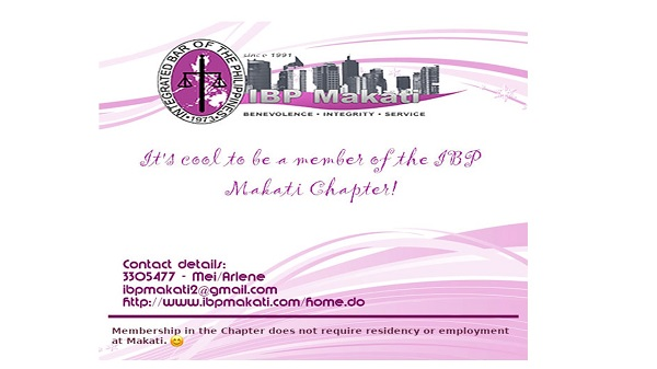Be a Member of IBP Makati